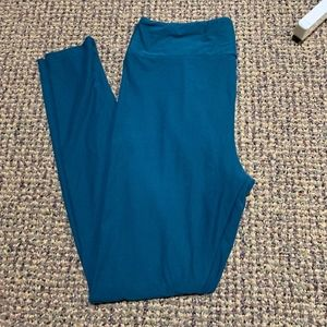 Lularoe TC Teal Leggings